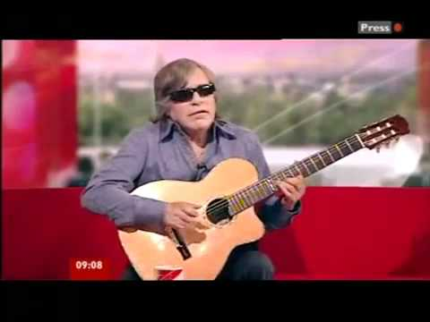 Jose Feliciano in UK 2011 - BBC interview