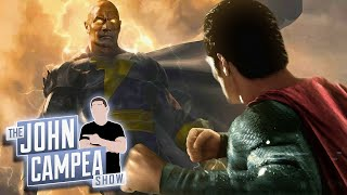 Superman In Black Adam Movie Possible Says Producer - The John Campea Show