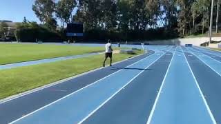 SHAWN PORTER ON THE TRACK IN CAMP FOR ERROL SPENCE