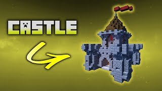 Minecraft How To Build A Mini Castle Tutorial PC / PS3 / PS4 / XBOX / MCPE #4