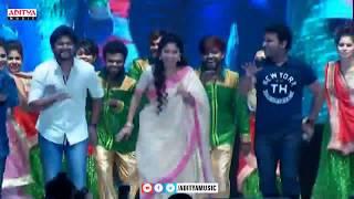 Nani, Sai Pallavi, DSP Dance on Stage @ MCA Pre Release Ev..