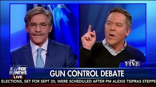 "Greg Gutfeld to Geraldo Rivera:  ""Screw you!"" - The Five"