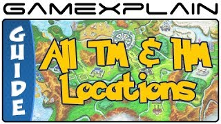 Pokémon X & Y - All TM & HM Locations (Guide & Walkthrough)