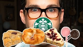 Starbucks Pastries Taste Test