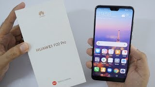 Huawei P20 Pro Unboxing & Overview Triple Camera Setup