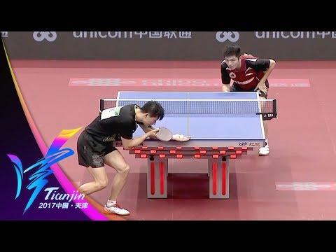 2017年第十三届全运会 乒乓球男单决赛 马龙VS樊振东 20170906 | CCTV
