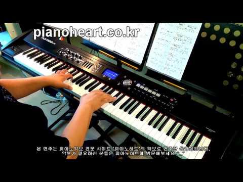 백현(Baekhyun) - 두근거려(Beautiful) 피아노 연주(piano cover)