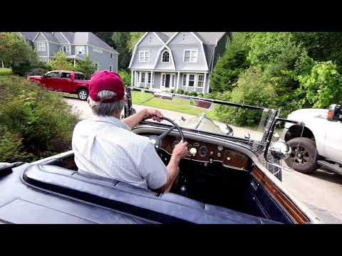 video 1931 Packard Model 840 Deluxe Eight Roadster