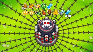 GOD BOOSTED Tack Shooter is INSANE!! (Nothing Can Beat This Tower)