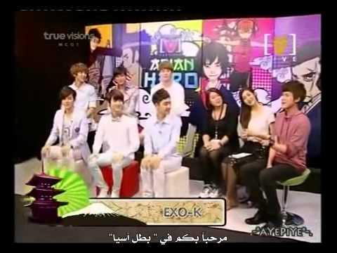 [arabic Sub] EXO-K Channel [V] Asian Hero-1\4