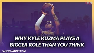 Lakers News Feed: Kyle Kuzma Plays A Bigger Role Than You Think