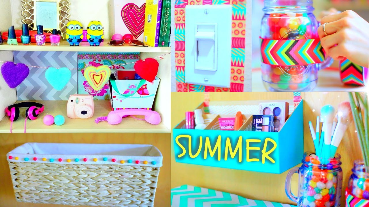 Cute Diy Home Decor Ideas: Tumblr Room Makeover! - YouTube