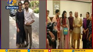 Saina Nehwal & Parupalli Kashyap performed register ma..