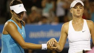 Ana Ivanovic Vs Daniela Hantuchova 2008 AO Highlights
