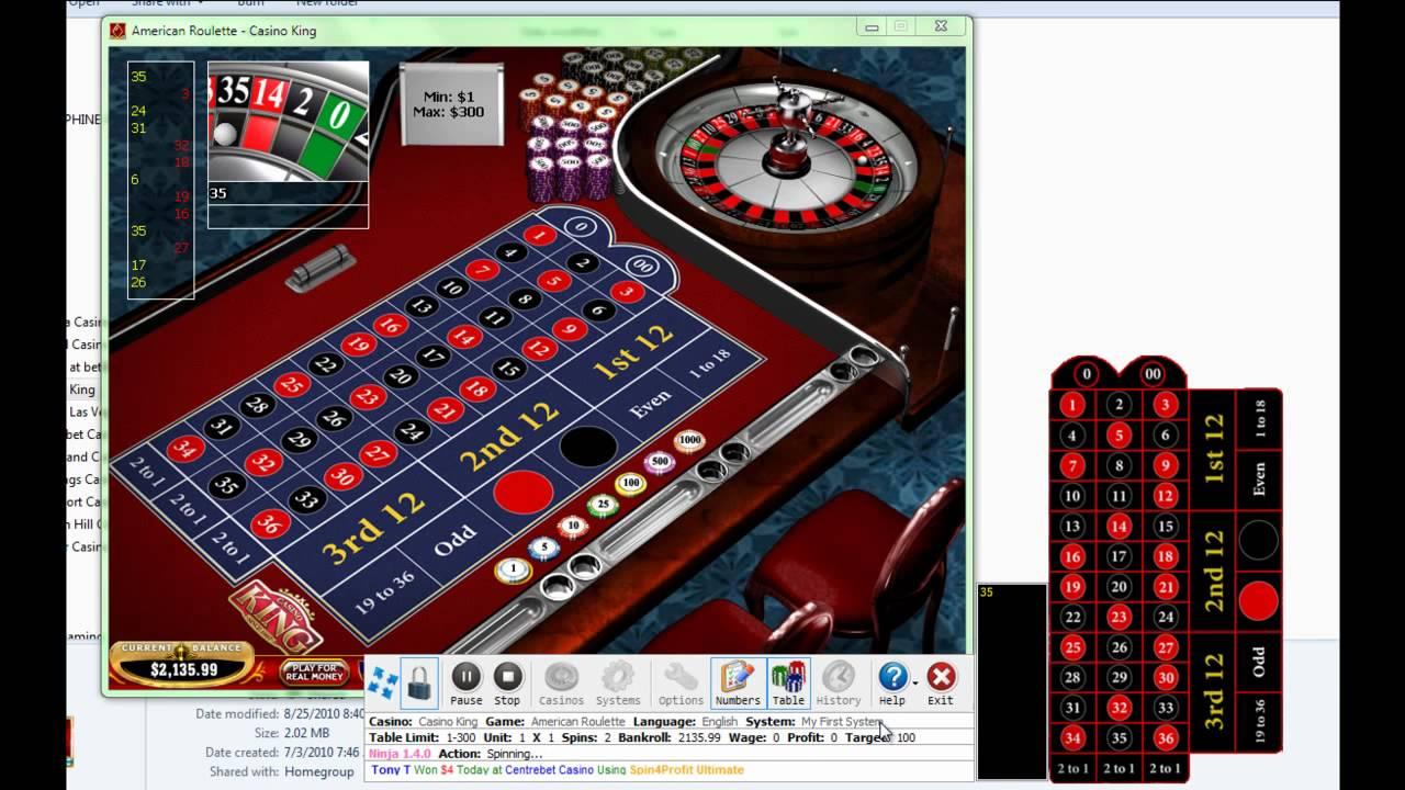 Online roulette system verboten