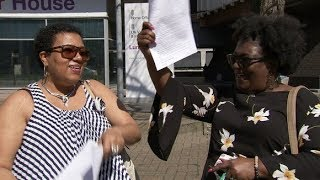 'I'm British now!' - first Windrush immigrants granted citizenship | ITV News