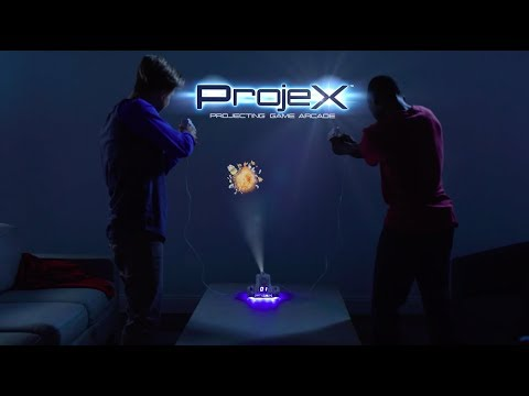 Expected to be one of the hottest toys this holiday season, ProjeX turns any room in your home into an incredible gaming arcade!