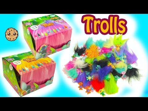 Dreamworks Trolls Blind Bag Boxes Series 1 + 2 Surprises - Poppy, Branch + More
