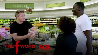 Gordon Ramsay Makes A Surprise Meal For Supermarket Shoppers | Season 1 Ep. 11 | THE F WORD