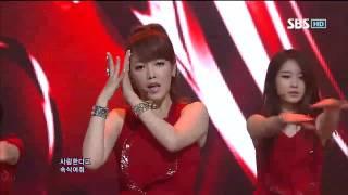 티아라 [DAY BY DAY] @SBS Inkigayo 인기가요 20120715
