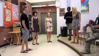 Seasons of Love Cover--Graduation Ceremony Rehearsal