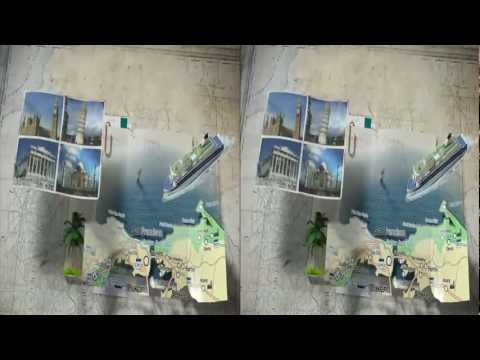 3net World Cities Show Open 3D Video
