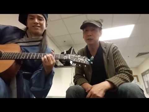 蒋志光和赤子乐队成员张彦博飙歌,翻唱 Eason好久不见。。唱功果然宝刀未老