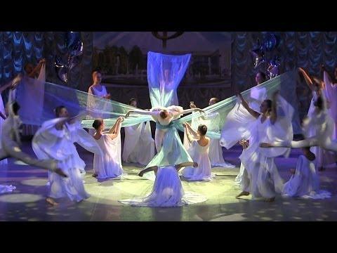 Hallelujah Dance Аллилуйя Роза ветров танец Синяя птица
