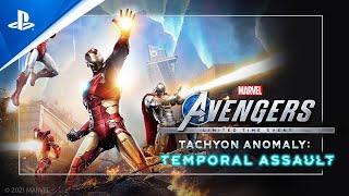 Marvel's avengers :  bande-annonce
