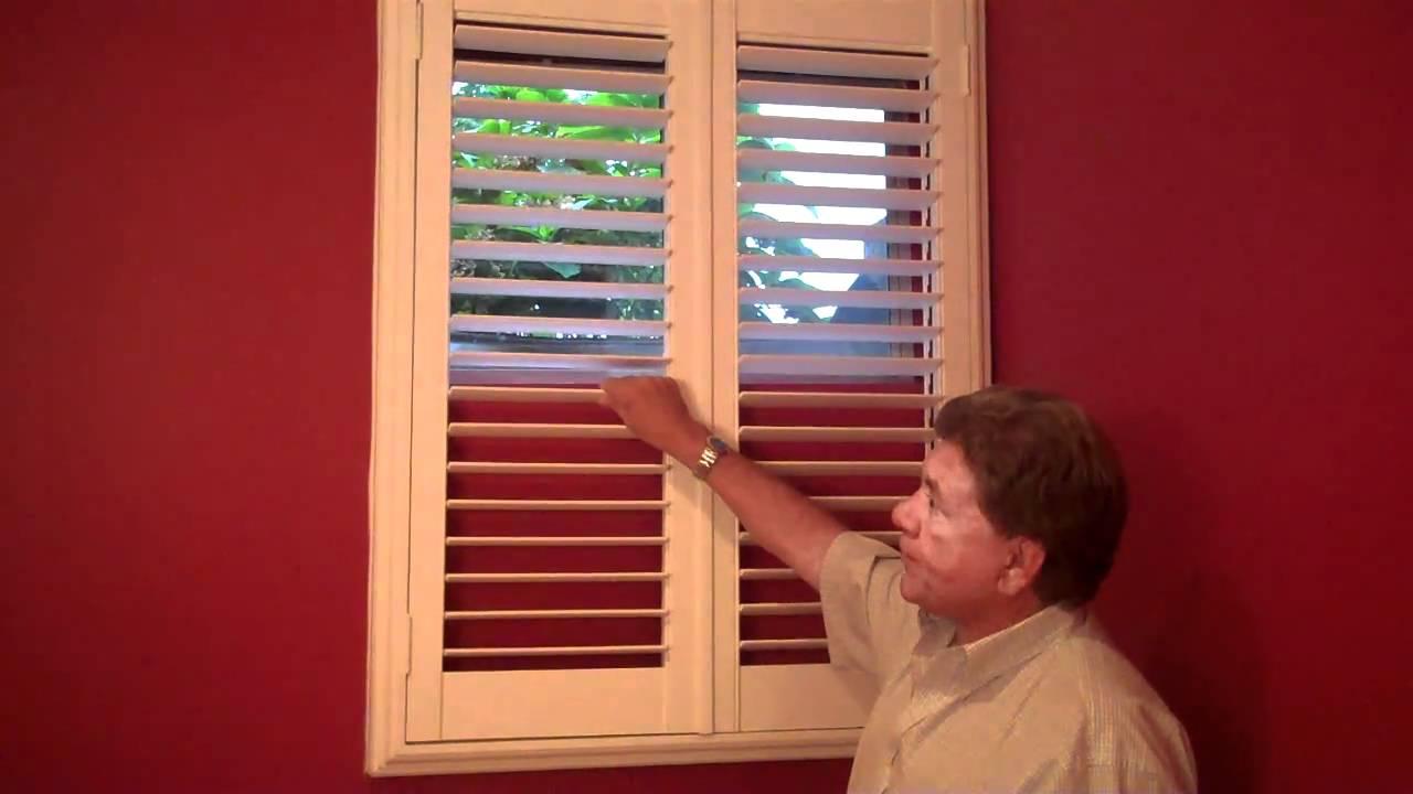 Basement Shutters By Professional Window Treatments Of