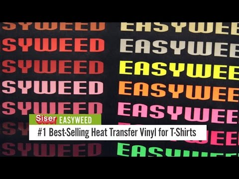 Know how Siser Heat Transfer Vinyl Can Personalize T-shirts