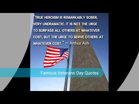 Highlight Of  Veterans Day Quotes