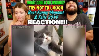 What Could Go Wrong - TRY NOT TO LAUGH - Best Funny Moment & Fails 2019 😂  | REACTION!!!