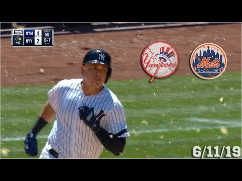 New York Yankees Highlights: vs New York Mets | 6/11/19