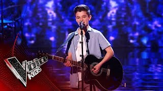 Ryan Performs 'Dancing In The Dark' | Blind Auditions | The Voice Kids UK 2019