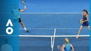 Molik/Philippoussis v Hantuchova/Ivanisevic match highlights (1R) | Australian Open 2018