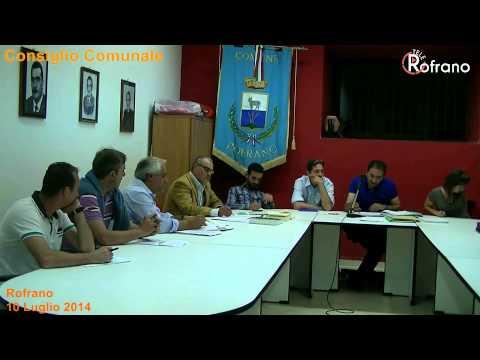 consiglio comunale 10 luglio 2014