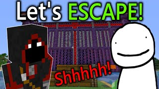 Dream and BadBoyHalo Plan an ESCAPE from Dream SMP Prison