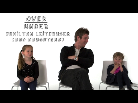 Watch Hamilton Leithauser and His Daughters Rate Pizza, Play-Doh, and Dad Brawls