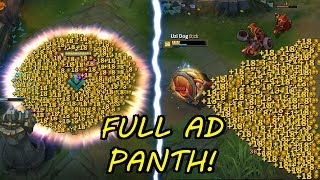 FULL AD PANTHEON !!! WET DREAM + INSANE DAMAGE! [ League of Legends ]