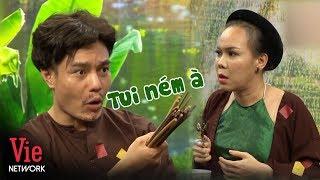 Lê Dương Bảo Lâm nổi quạu khi nghe giọng ca như hội chợ của Việt Hương | Ai Cũng Bật Cười