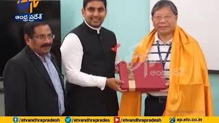 Lokesh meets Avery Chairman; PCB maker willing to invest i..