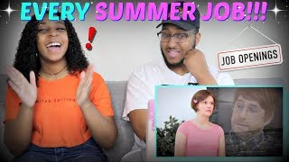 "Smosh ""EVERY SUMMER JOB EVER"" REACTION!!!"
