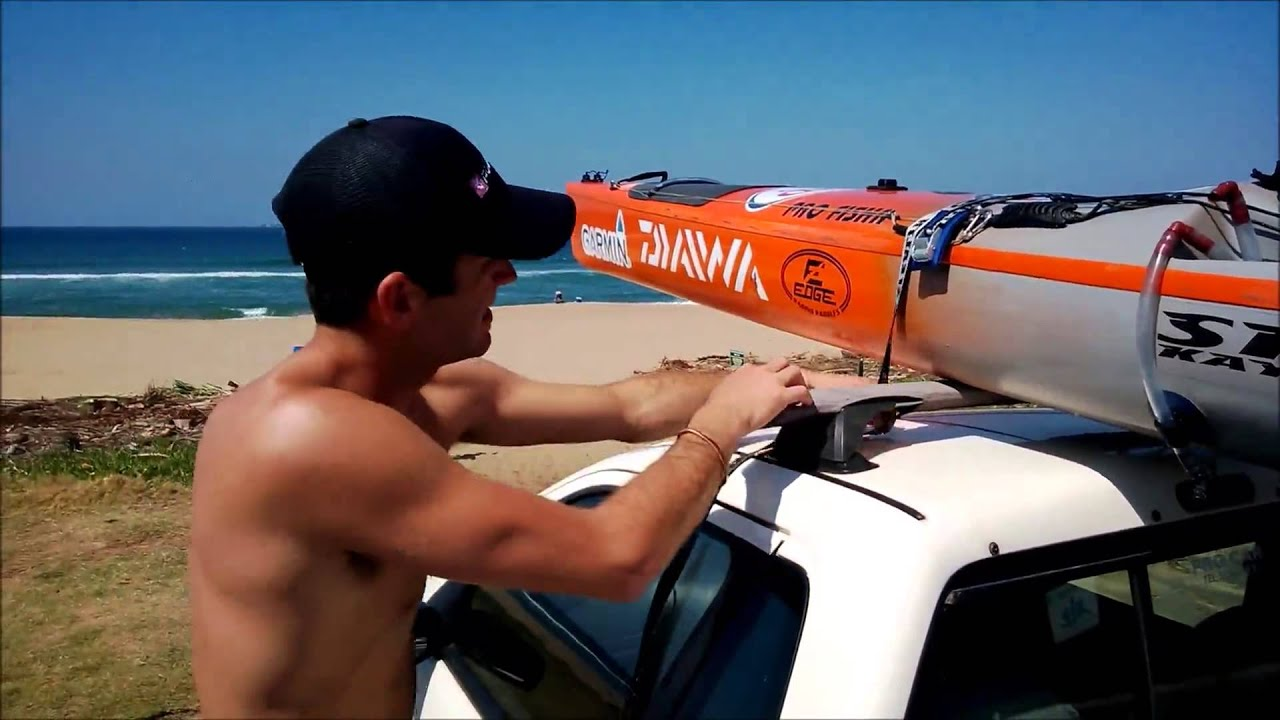 How To Tie Your Kayak To The Car Correctly Youtube