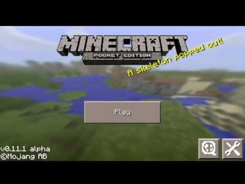 Como Entrar En SkyWars Minecraft Pocket Edition 0.11.1 | 0.11.0