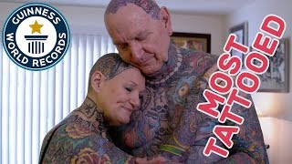 Most tattooed senior citizens - GWR Beyond The Record