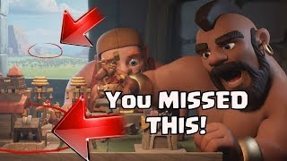 THINGS YOU MISSED In THE BUILDER LEFT Clash Of Clans Commercial | CoC Update Leak DID NOT SEE! 2017