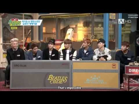 [ENG SUB] 방탄소년단 BTS Bangtan Boys not interested with Girls Group?