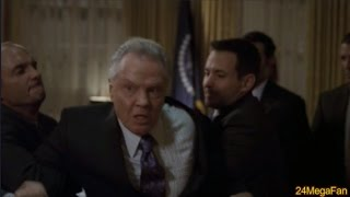 Hodges arrested at Presidents office - 24 Season 7
