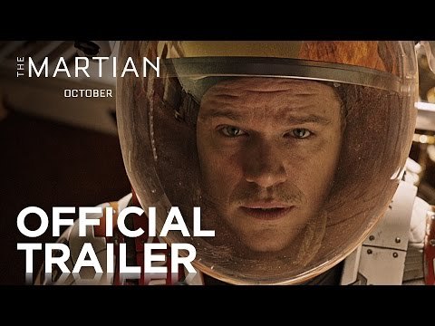 The Martian Official Trailer,